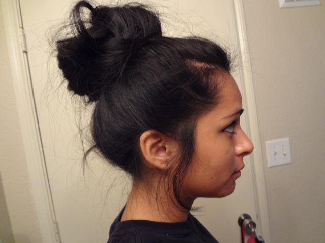 high bun for girls with freaking long hair! (like me~) – cilla44