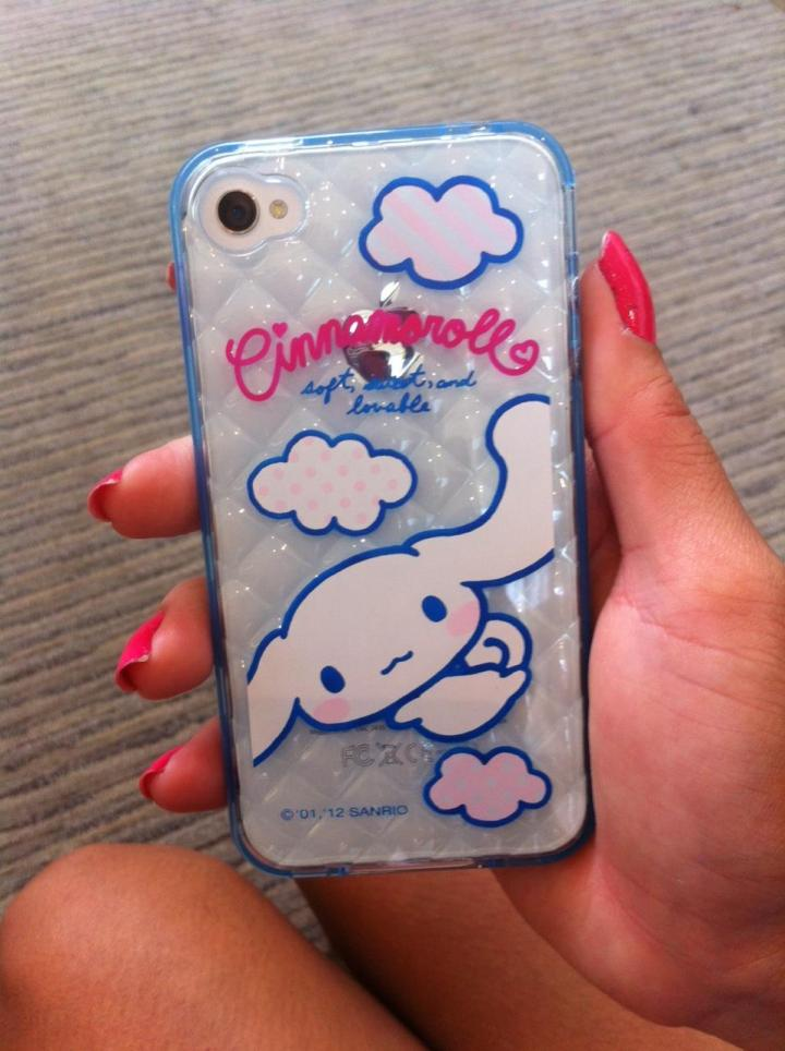 One of my phone cases~& one of my favorite Sanrio characters!