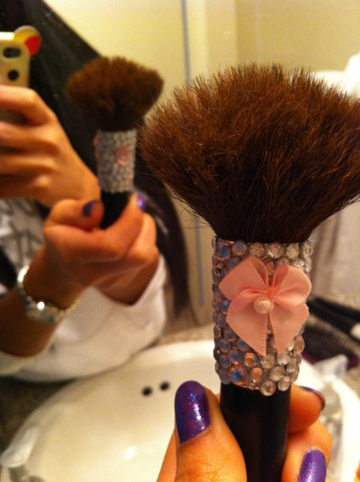 My powder brush.