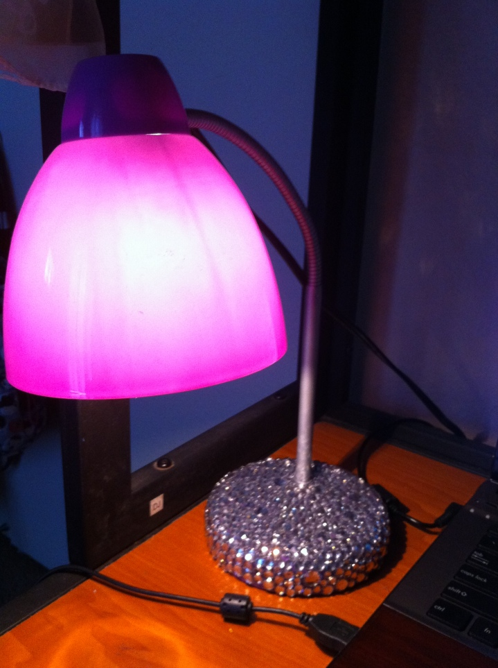 My desk lamp.