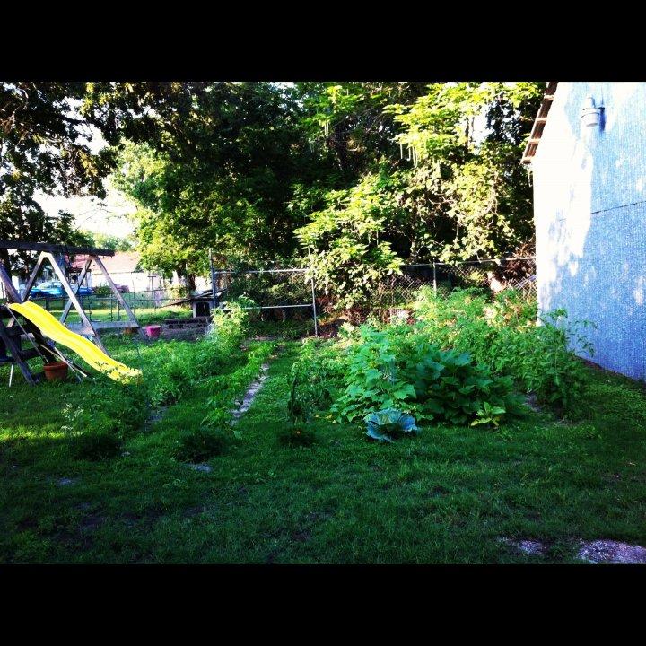 Garden is gigantic