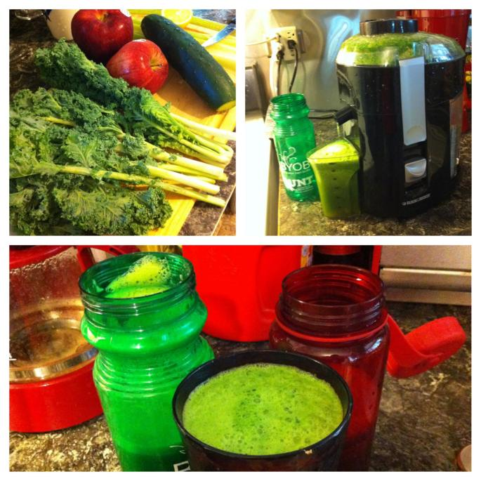 Convinced my family to start juicing