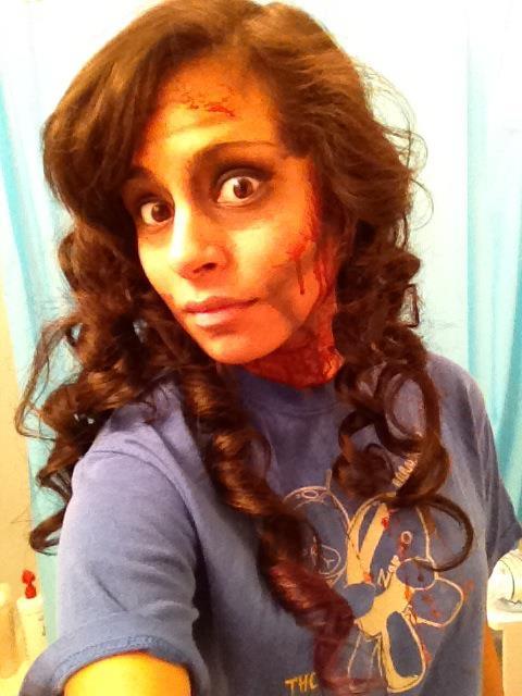 Did a zombie 5k