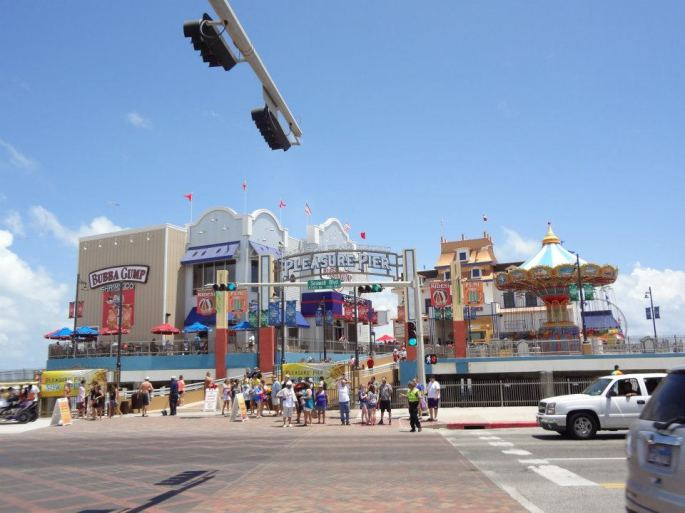 Went to Pleasure Pier in Galveston with my family